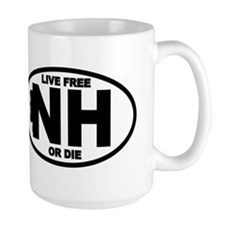 New Hampshire Live Free or Die Mug