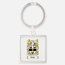 Yuille Square Keychain