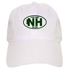 New Hampshire Live Free or Die Baseball Baseball Cap
