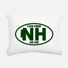 New Hampshire Live Free or Die Rectangular Canvas