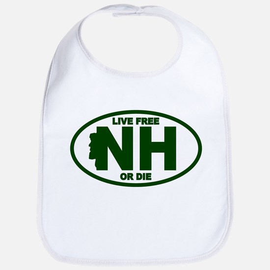 New Hampshire Live Free or Die Bib