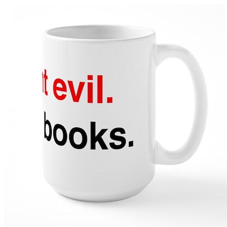 Fight Evil, Read Books Mug