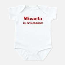 Micaela is Awesome Infant Bodysuit