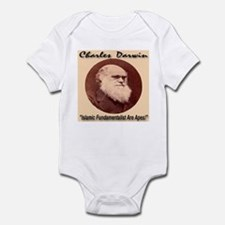 Charles Darwin Infant Bodysuit