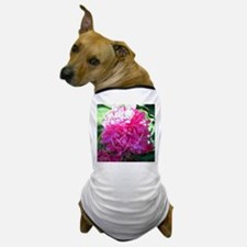 Shaded Pink Flower Dog T-Shirt