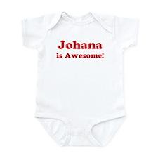 Johana is Awesome Infant Bodysuit