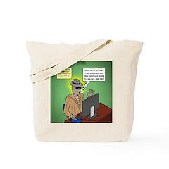Invisible Man and Catfishing Tote Bag