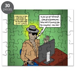 Invisible Man and Catfishing Puzzle