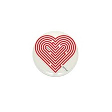 I Love Susana Mini Button