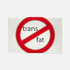 No trans fat! Rectangle Magnet
