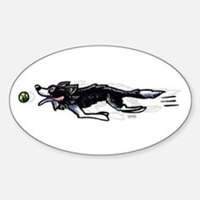 Border Collie Action Decal