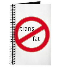 No trans fat! Journal