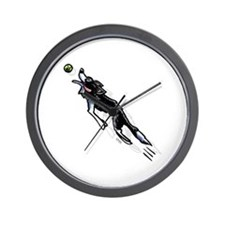 Border Collie Action Wall Clock