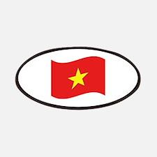 Vietnam Flag Wave Patches