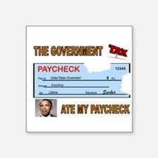 PAYCHECK Sticker