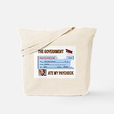 PAYCHECK Tote Bag