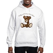 Cute Sick Teddy Infant Design Hoodie