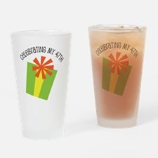 Celebrating My 47th Birthday Drinking Glass