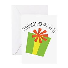 Celebrating My 47th Birthday Greeting Card