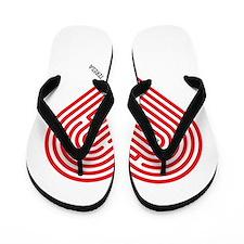 I Love Teresa Flip Flops