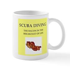 scuba diving Mug