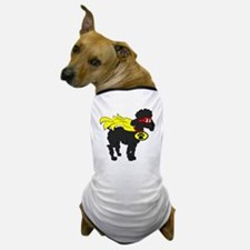 Black Poodle Super Hero Dog T-Shirt