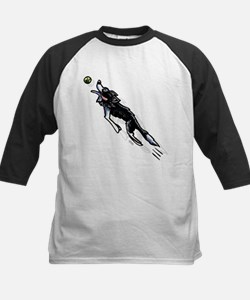 Border Collie Action Baseball Jersey