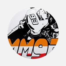 MM93bike Ornament (Round)