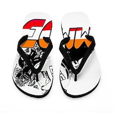 MM93bike Flip Flops