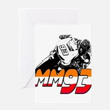 MM93bike Greeting Card