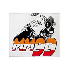 MM93bike Throw Blanket