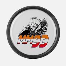 MM93bike Large Wall Clock