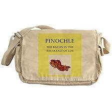 pinochle Messenger Bag
