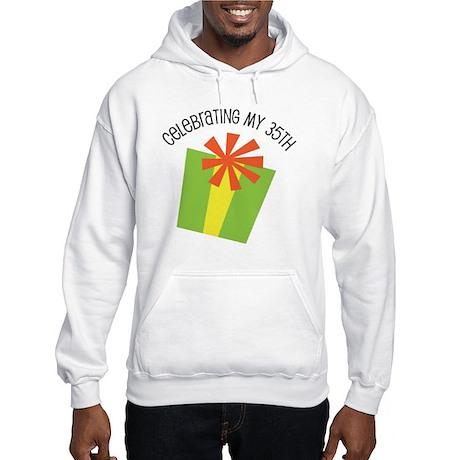 Celebrating My 35th Birthday Hooded Sweatshirt
