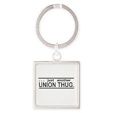 Union Thug Square Keychain