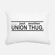 Union Thug Rectangular Canvas Pillow