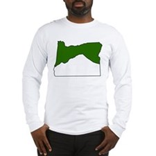 Mt. Hood, OR Long Sleeve T-Shirt