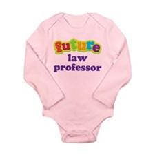 Future Law Professor Long Sleeve Infant Bodysuit