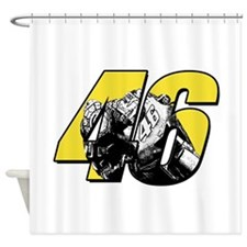 46bikeinside Shower Curtain