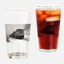 "The Big ""M"" Drinking Glass"