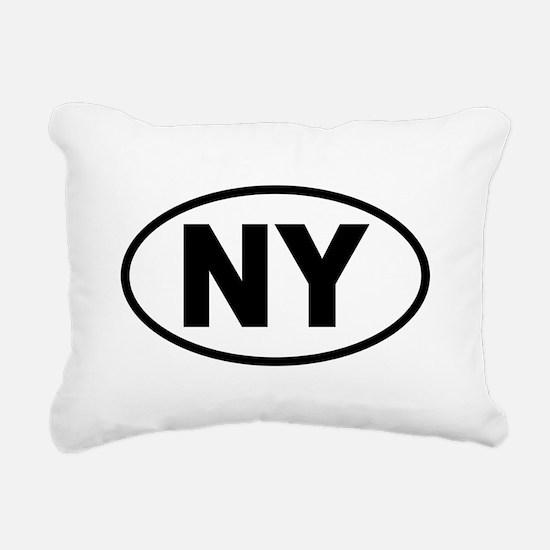 New York Rectangular Canvas Pillow
