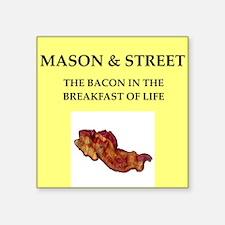 mason and street Sticker