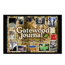 Gatewood Journal Collage Postcards (package Of 8)
