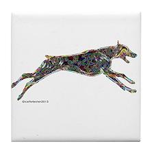 Doberman Pinscher COOL Tile Coaster