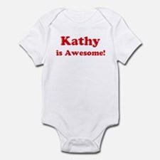 Kathy is Awesome Onesie