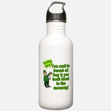 Funny Drinking Quote Water Bottle