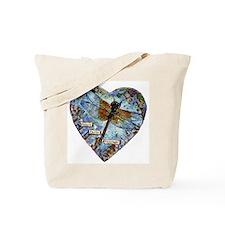 heart faith courage Tote Bag