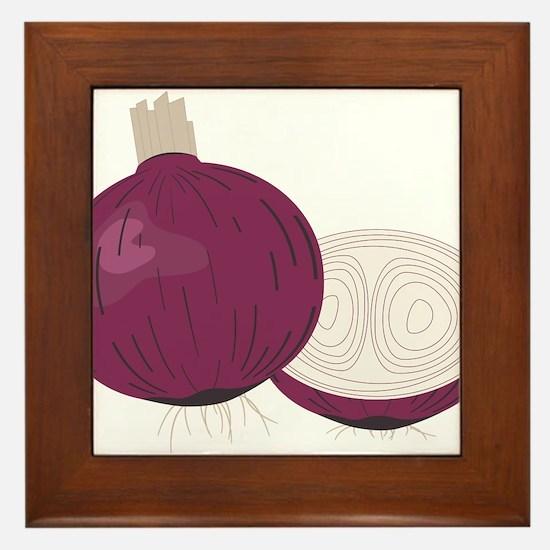 Onion Framed Tile
