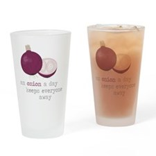 Keep Away Drinking Glass