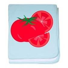 Tomato baby blanket